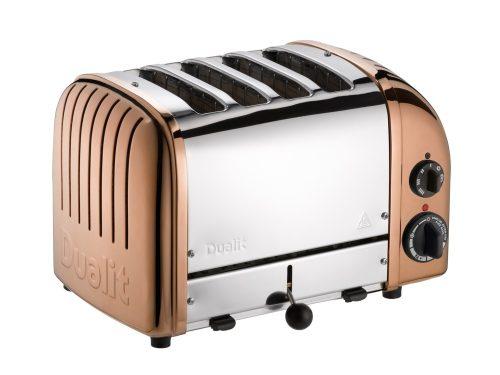 dualit bakır görünümlü 4 dilim ekmek kızartma makinesi