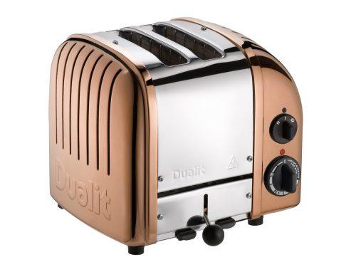 dualit bakır rengi ekmek kızartma makinesi